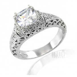 Ezüst Gyűrű Cirkónia Drágakövekkel