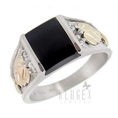 Black Hills Sterling Ezüst & 12K Arany Pecsét Gyűrű