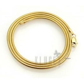 14K Arany-diffúziós Kígyó Lánc 40 CM