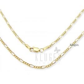 14K Arany-diffúziós Figaro Lánc 45 CM