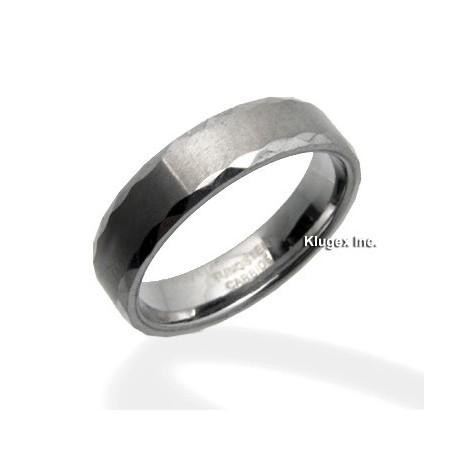 Tungsten Karika Gyűrű