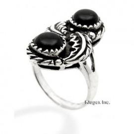 Ezüst Gyűrű Ónixszal