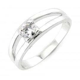 Ezüst Gyűrű Cikónia Kővel