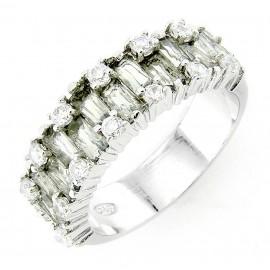 Ezüst Gyűrű Cirkóniával