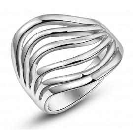 Magas Fényű Trendi Gyűrű