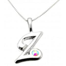 Ezüst Monogram Medál Lánccal – Z
