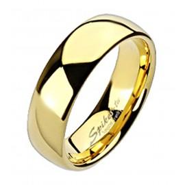 Aranyozott Volfrámacél, Wolfram, Tungsten, Karikagyűrű